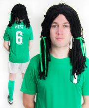 Taribo West Nigeria Football Fancy Dress Costume